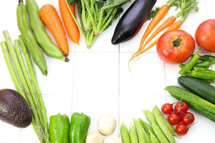 いろんな色の野菜